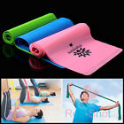 Elastic Yoga Pilates Rubber Stretch Resistance Exercise Fitness Band Belt Tool