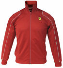 Puma SF Ferrari Kids Junior Boys Red Polyester Track Jacket (761480 02 U18)