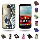 For ALCATEL One Touch Fierce 2 / Pop Icon Hard Plastic Design Back Cover Case