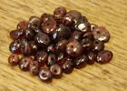 "GARNET SMALL TUMBLE CHIP BEADS - 50 BEADS or 36"" STRING"