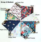New Lesportsac Medium Cosmetic Bags Pouches Assorted Prints (A-B)