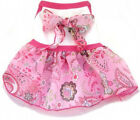 Designer Dog Dress I SEE SPOT PINK PAISLEY - LARGE