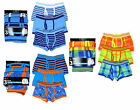 Boy's Pack of 3 Trunk Fit Boxer Shorts Cotton Rich Underpants 7-13 Years NEW