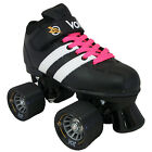 Riedell Volt Roller Derby Speed Skates  W/ 2 pair of Laces (White & Pink)
