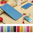 0.3mm Ultra Thin Slim Matte Hard Back Case Cover Skin For iPhone 5 iPhone 6