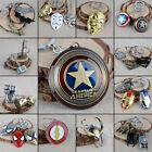 1pc The Avengers Marvel Character Metal Keychain Key Ring Decoration Gift