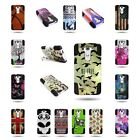 For LG G3 Vigor Tough Protective Design Case Hybrid Heavy Duty Cover w/ Stand