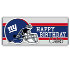 NY Giants Football Birthday Party Personalized Candy Bar Wrappers