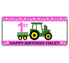 Girl Tractor John Deere Inspired Candy Bar Wrappers - John Deere Inspired Favors