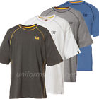 Caterpillar T shirt Mens CAT Logo Performance Short Sleeve Crew Tee T-shirt Top image