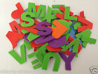 "Letter Stickers Alphabet Capital Letters Foam 1.5"" Self Adhesive 50 or 100 Pack"