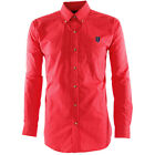 Antigua Mens MLS REAL SALT LAKE ESTEEM LONG SLEEVE DRESS SHIRT  Dark Red