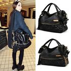 New Women Satchel Bag Tote Messenger Faux leather shoulder Bag handbag purse