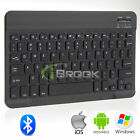 "Wireless Bluetooth Keyboard For IOS Android Windows 9"" 9.7"" 10.1"" Tab New"