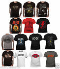 Official AC / DC T Shirt Rock Or Bust / High Voltage  Angus Young Mens New