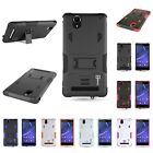 For Sony Xperia T2 Ultra Dual Layer Hybrid Stand Tough Protective Cover Case
