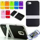 Protective Hybrid Impact Kickstand TPU Cell Case Cover Stand for Cellphone phone