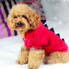 Multi Designs Pet Cat Dog Clothes Coat Kitty Puppy Polar Fleece Hoodie Outfits