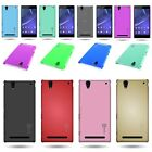 Slim Protective 1pc Back Hard Shell Phone Cover Case for Sony Xperia T2 Ultra