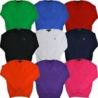 Polo Ralph Lauren Sweater Womens V-neck Cable Knit Pullover Sweatshirt Nwt