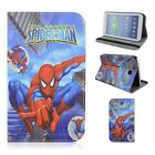 Super Hero Cute Cartoon Folio PU Leather Case Cover For Samsung Galaxy Tab 3 7.0