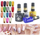 Metal Style Fashion Color Nail Art Soak Off UV Gel Polish Metallic Gel HN