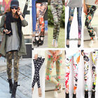 NEW Women Fall Sexy ladies' Skinny Stretchy Pencil Tights Pants Punk Funky Pants