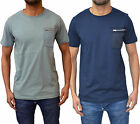 Mens Designer Weekend Offender T-Shirt Crew Neck Tee Top Pocket Style Mission T