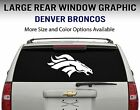 Denver Broncos Window Decal Graphic Sticker Car Truck SUV - Choose Size $23.95 USD on eBay