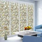 Premium 3D Reflective Decorative Stained Etched Glass Vinyl Window Privacy Film