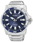 Citizen Eco-Drive Blue Dial Solid Titanium 100m Gents Sports Watch AW1220-54L