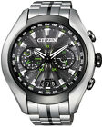 Citizen Eco-Drive Satellite Wave Air GPS Titanium Sapphire Watch CC1054-56E