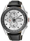 Citizen Eco-Drive Chronograph Leather 100m Sports Watch CA0361-04A