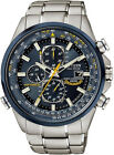 Citizen Eco-Drive Chrono Sapphire Radio Blue Angels Pilots Watch AT8020-54L