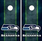 Seattle Seahawks Cornhole Board Decal Wrap Wraps