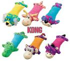 KONG PILLOW CRITTERS MEDIUM - Multiple Squeakers Fetch Cuddle Plush Dog Toy