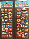 3 Sheets Puffy 3D Stickers Scrapbook Kids Party Favors Crafts, FREE USA SHIPPING