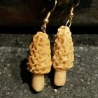 Morel Mushroom Earrings