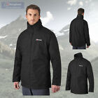 Berghaus Men's RG1 Long Waterproof Breathable Jacket - Black - Authorised Dealer