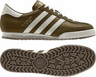 ADIDAS ORIGINALS BECKENBAUER BROWN LEATHER/SUEDE TRAINERS SIZES 7-12 IN STOCK