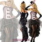 Costume carnevale donna travestimento Halloween Moulin Rouge Burlesque DL-1315