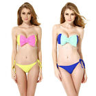 Colloyes SEXY Brazilian Bottom Bikini SET Swimsuit Bathing Suit Swimwear S M L