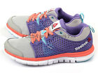 Reebok Zquick Dash Youth Junior Running Sneakers Steel/Orchid/Blue/Coral M47891