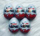 1- 10 pcs Kinder Chocolate eggs with surprise toy inside