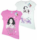 Girl's Disney Violetta Stars Slash Waist Cotton T-Shirt Top Tee 6-12 Years NEW