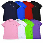 Polo Ralph Lauren Soft Touch Interlock Polo Shirt New Medium Fit S M L Xl Xxl