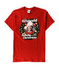 Gildan Mens Christmas Vacation Graphic T-Shirt