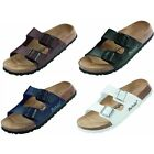 Betula - Boogie Sandals - Black Whit Brown Blue - Birko-Flor