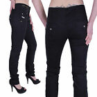 Diesel Womens Chino Trousers Aguas Black W29 L34 #21