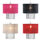 Modern Fabric Ceiling Pendant Chandelier Light Drum Lamp Shade Lampshades Lights